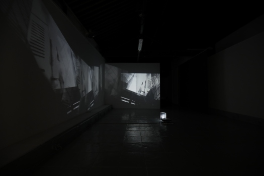 Installation view at 1a Space, Hong Kong